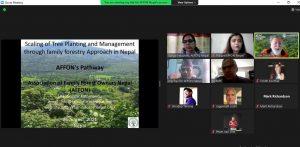 AFFON's participation in Global Evergreening Alliances' platform !